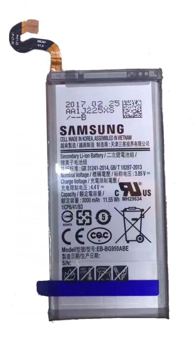 Batteribyte Samsung S8